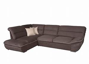 Microfiber sectional sofa sleeper ef terzo fabric for Sleeper sofa sectional