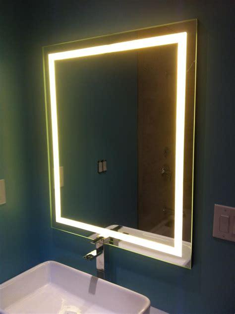 Led Backlit Mirror Backlit Mirror Backlit Bathroom