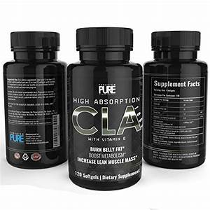 Paradigm Pure Cla Supplement  Increase Lean Muscle Mass  Burn Stubborn Belly Fat  Lose Weight