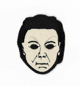 Halloween Patch Embroidered Badge Slasher Horror Movie ...