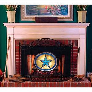 Licensed, Mlb, Fireplace, Screen