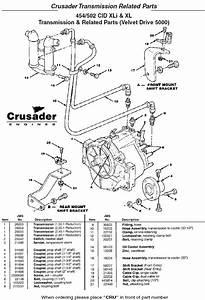 Crusader Engine Parts Transmission 454  502 Lxi  U0026 Xl Velvet