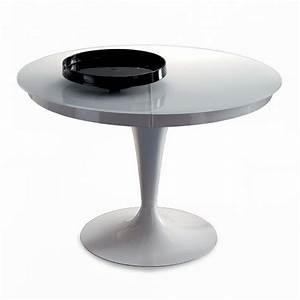 Table Ronde Extensible Design : salle manger meubles et atmosph re ~ Teatrodelosmanantiales.com Idées de Décoration