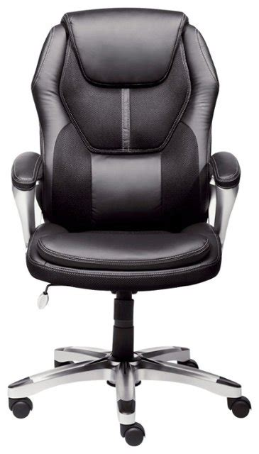 serta executive office chair black 43673 best buy - Where To Buy Desk Chairs