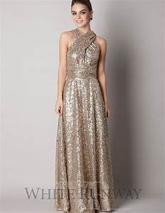 rose gold sequins bridesmaid dress 2015 sparkly With plus size sparkly wedding dresses