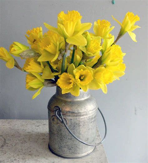 Spring Wedding  Artificial Daffodil Bouquet #2208668 Weddbook