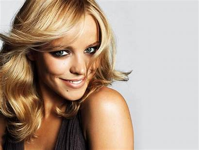 Celebrity Rachel Mcadams Makeup Blondes Smiling Expressionism