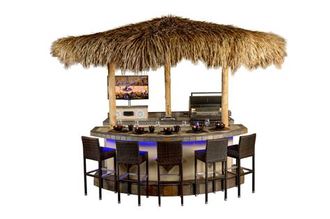tahiti outdoor bar system build   paradise grills