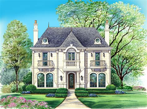 Small House Plans French Country  Home Deco Plans