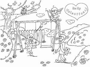 scene girlse colouring pages