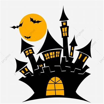 Halloween Castle Material Commercial Clipart Castelo Pngtree