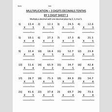 Printable Multiplication Worksheets 5th Grade  Learning Printable  Math Worksheets Printable