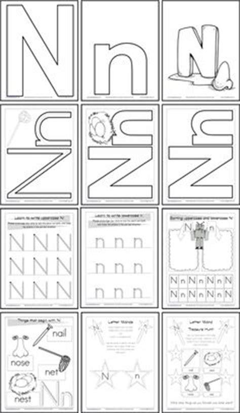 Free Printable Letter N Worksheets For Kindergarten  Printable 360 Degree