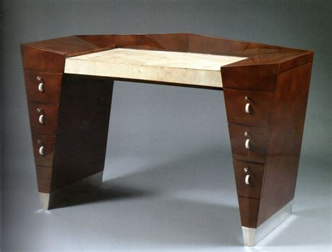 art deco desk l stunning shagreen now you know