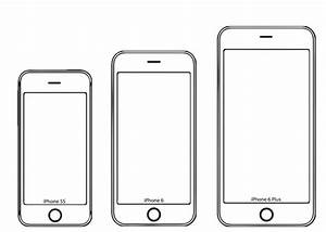 test the iphone 6 screen size yourself with these paper models With iphone cut out template