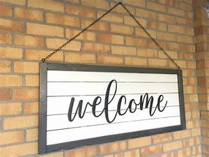 How, To, Make, A, Large, Shiplap, Welcome, Sign