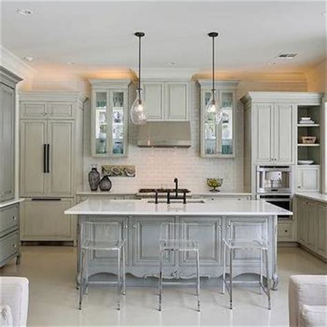 grey wash kitchen cabinets gray french sideboard design ideas