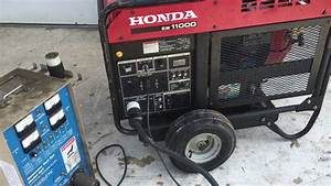 Used Eb11000 Honda Generator For Sale