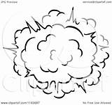 Explosion Comic Poof Clipart Burst Vector Illustration Royalty Tradition Sm Seamartini Graphics Coloring Pages Sketch Template sketch template