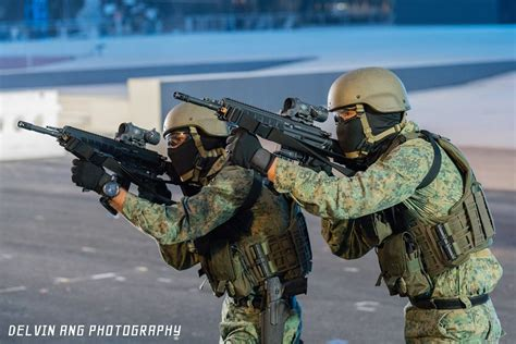 singapores national day parade simulated terrorist attack extravaganza  firearm blog