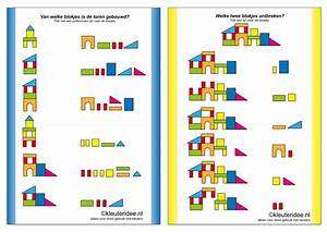 Visual Learning For Life  Building Block Worksheets
