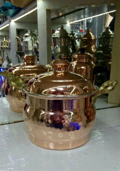copper cookware copper pots  pans  lid professional