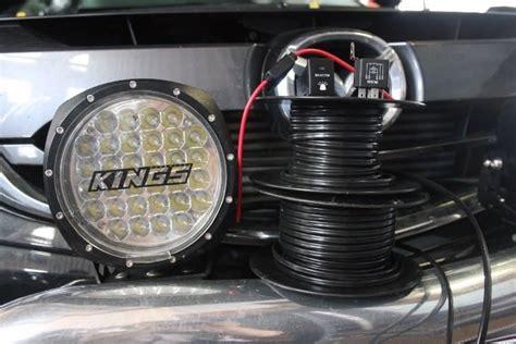spotlight installation on mazda bt 50 b32p accelerate