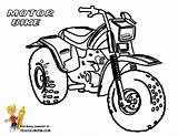 Coloring Motorcycle Motorbike Printable Bikes Motocross Bike Dirt Easy Boys Simple Motorrad Yescoloring Colouring Colorear Adults Ausmalbilder Suzuki Sheet Dibujos sketch template