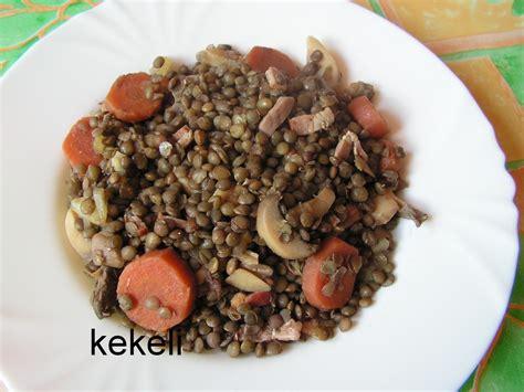 cuisiner des lentilles en boite lentilles vertes à la forestière le de kekeli