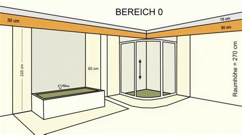 Beim Bohren Klar Definierte Installationszonen by Installationszonen Bad