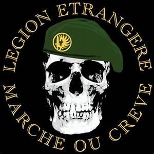 Foreign Legion Marche Ou Creve T-Shirt 0239 | T shirts ...