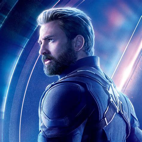 2048x2048 Captain America In Avengers Infinity War 8k