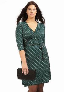 10 best images about mode grande taille on pinterest for Robe portefeuille grande taille