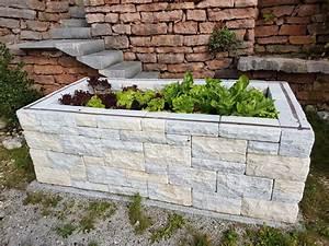 Hochbeet Aus Stein : hochbeet aus naturstein ~ Watch28wear.com Haus und Dekorationen