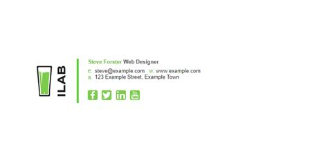 Gmail Signature Template Top 3 Free Email Signature Templates For Gmail