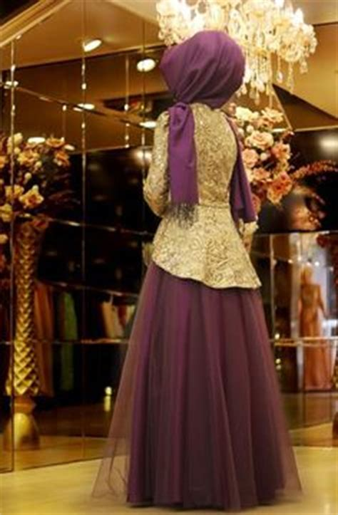 peplum detayli abiye elbise gold mevra tesettuer modeli