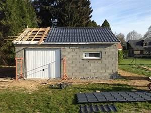 garage bois toit une pente myqtocom With faire une toiture de garage
