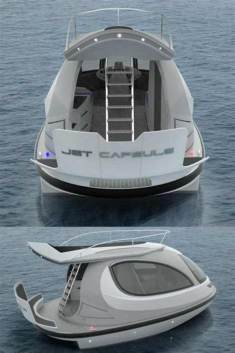 Ski Boat Yacht by A Jet Ski And A Yacht Had A Baby The New 2014 Jet Capsule