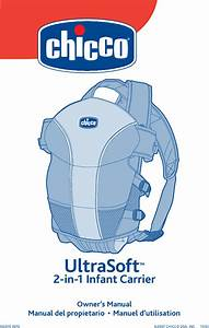 Chicco Baby Carrier Infant Carrier User Guide