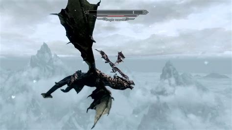 Skyrim Dragonborn Dragon Vs Dragon Youtube