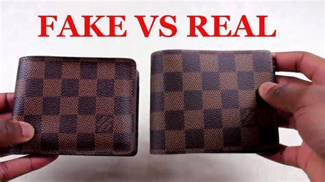 spot  replica louis vuitton wallet real  fake louis vuitton multiple wallet youtube