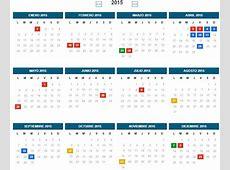 Lista de todos los feriados y dias no laborables 2015 en