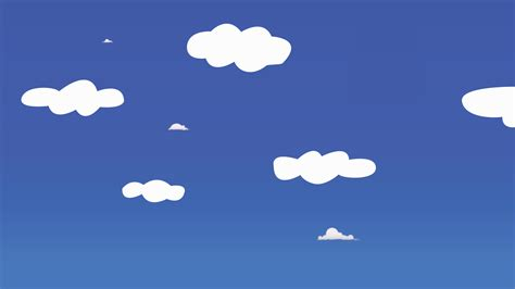 Cartoon Clouds  Cool Wallpapers