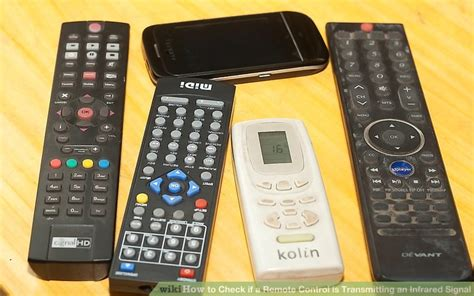 How Check Remote Control Transmitting