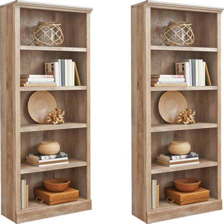 better homes and gardens bookshelf better homes and gardens crossmill 5 shelf bookcase set