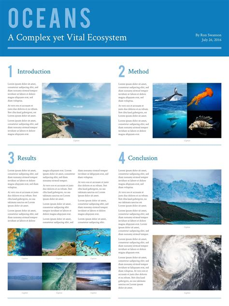 poster template 2 free scientific research poster templates exles