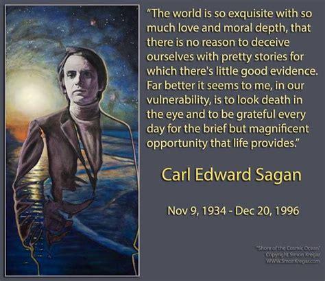 carl sagan  death quotes quotesgram