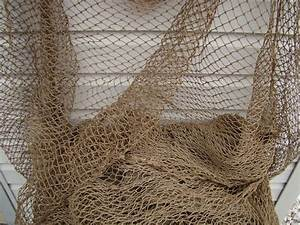 Old Used Fishing Net