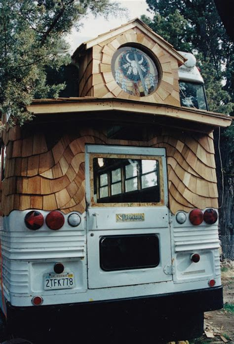 moon  moon rolling homes  awesome school bus conversion