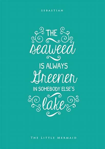 Quotes Mermaid Disney Under Sea Sayings Uploaded
